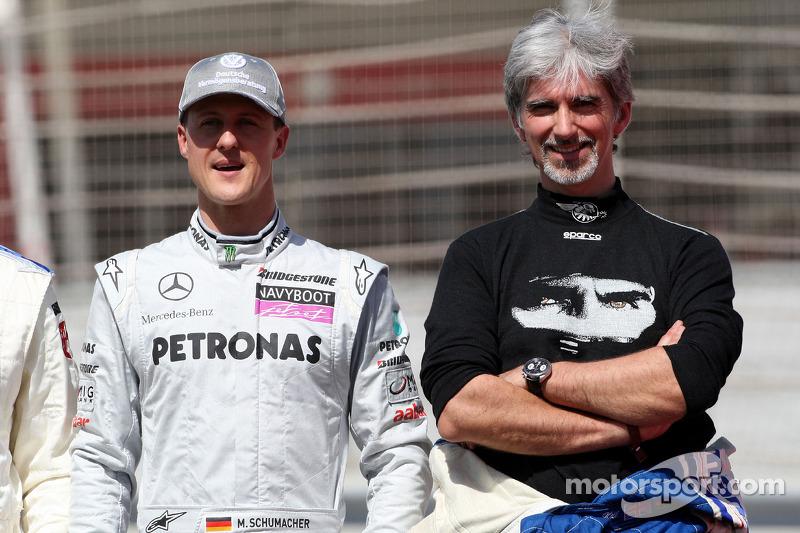 Michael Schumacher, Mercedes GP, Damon Hill, campeón mundial de F1 de 1996