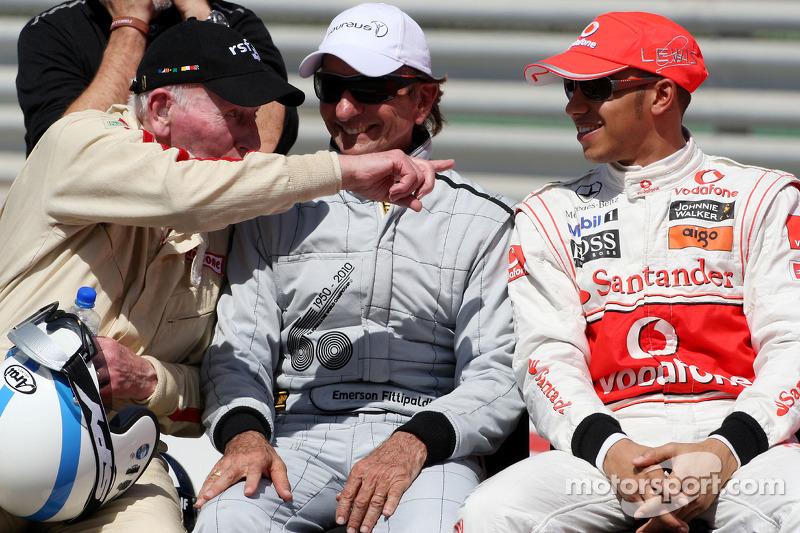 John Surtees, 1964 F1 Dünya Şampiyonu, Emerson Fittipaldi, 1972 ve 1974 F1 Dünya Şampiyonu, Lewis Ha