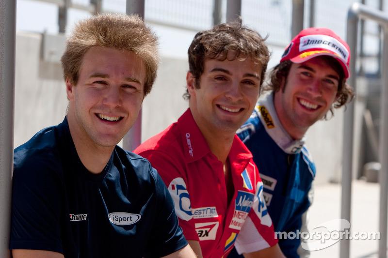 Davide Valsecchi, Luca Filippi and Giacomo Ricci
