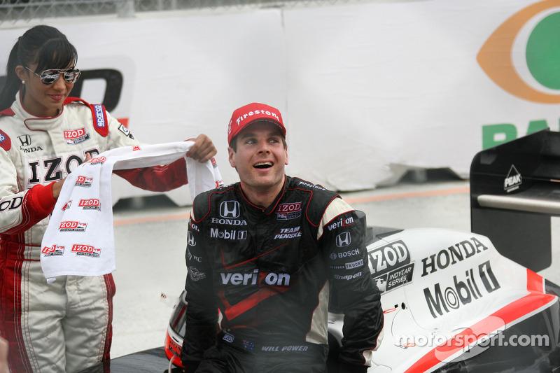 Race winnaar Will Power, Team Penske