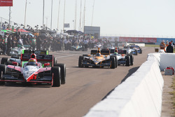 Cars head to track