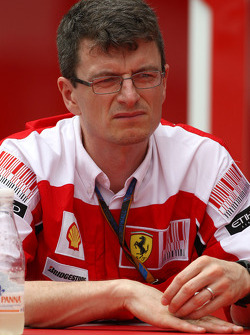 Chris Dyer, Scuderia Ferrari