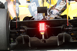 Renault F1 Team, rear diffuser detail