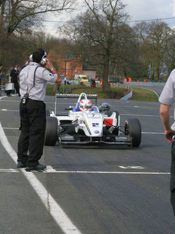 Alex Brundle lines up