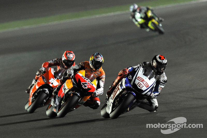Jorge Lorenzo, Fiat Yamaha Team, Andrea Dovizioso, Repsol Honda Team