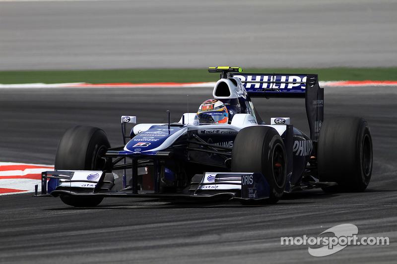 2010 год: Нико Хюлькенберг, Williams FW32 Cosworth