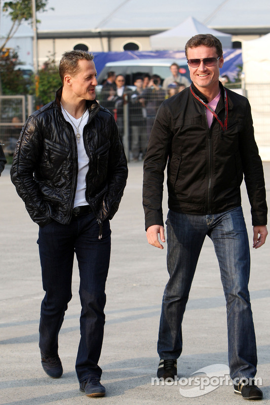Michael Schumacher, Mercedes GP, David Coulthard, Red Bull Racing, Consultant