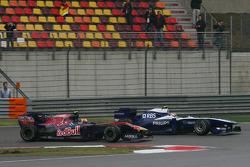 Jaime Alguersuari, Scuderia Toro Rosso and Nico Hulkenberg, Williams F1 Team