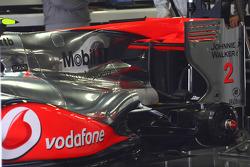 McLaren Rear end of car