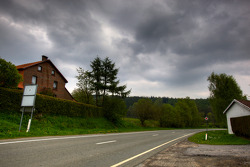Tour of the old Spa Francorchamps track: entry for the Burnenville curve