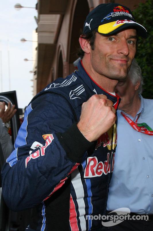 Mark Webber, Red Bull Racing, viert pole