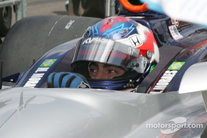 Mario Moraes, KV Racing Technology attend de pouvoir se qualifier