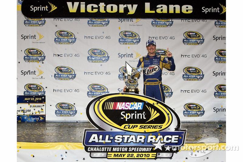 Victoire pour Kurt Busch, Penske Racing Dodge
