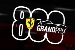 Ferrari viert de 800e Grand Prix