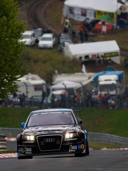 #71 Kiwi Team Nürburgring Audi RS4: Andy Booth, Alistair Taylor, Stuart Owers, Lewis Scott
