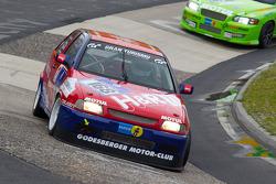 #168 Team DMV Seat Ibiza: Hans-Christoph Schäfer, Marcus Bulgrin, Michael Albertz