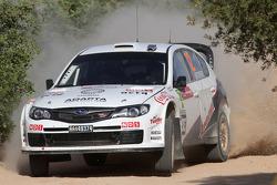 Subaru Impreza WRC 08 de Mads Ostberg y Jonas Andersson