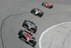Dario Franchitti, Target Chip Ganassi Racing, Mario Romancini, Conquest Racing, Dan Wheldon, Panther Racing & Helio Canstroneves, Team Penske