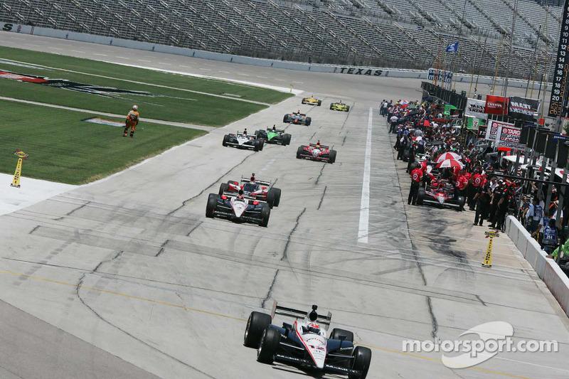 Pitlane, Texas Motor Speedway