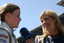 Susie Stoddart, Persson Motorsport, AMG Mercedes C-Klasse interview met Verona Wriedt, International DTM.TV