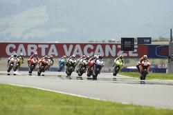 Inicio: Dani Pedrosa, Repsol Honda Team lidera el grupo