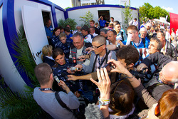 Media attention for Cyndie Allemann