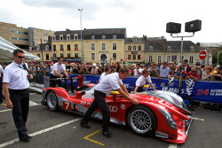 #7 Audi Sport Team Joest Audi R15 at scrutineering