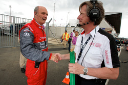Dr. Wolfgang Ullrich and race director Daniel Poissenot