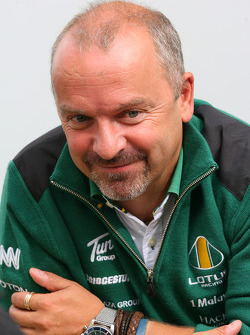 Mike Gascoyne, Lotus F1 Team, Chief Technical Officer