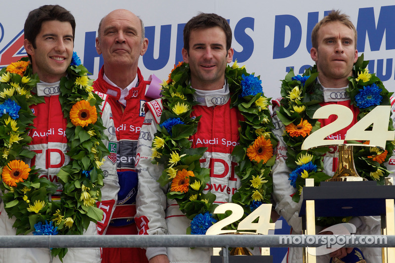 2010: Mike Rockenfeller, Romain Dumas, Timo Bernhard