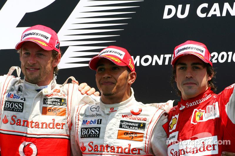 Fernando Alonso, 3º en el GP de Canadá 2010