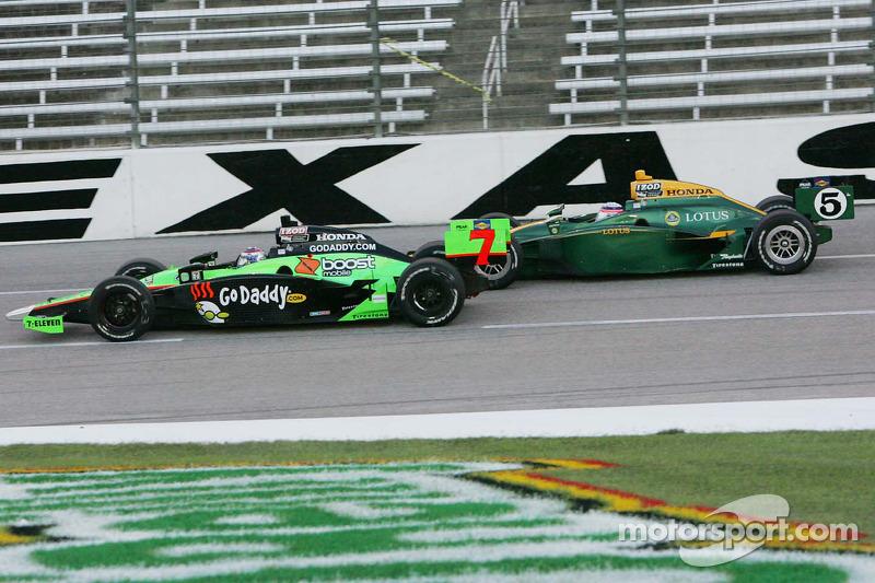 Danica Patrick, Andretti Autosport & Takuma Sato, KV Racing Technology