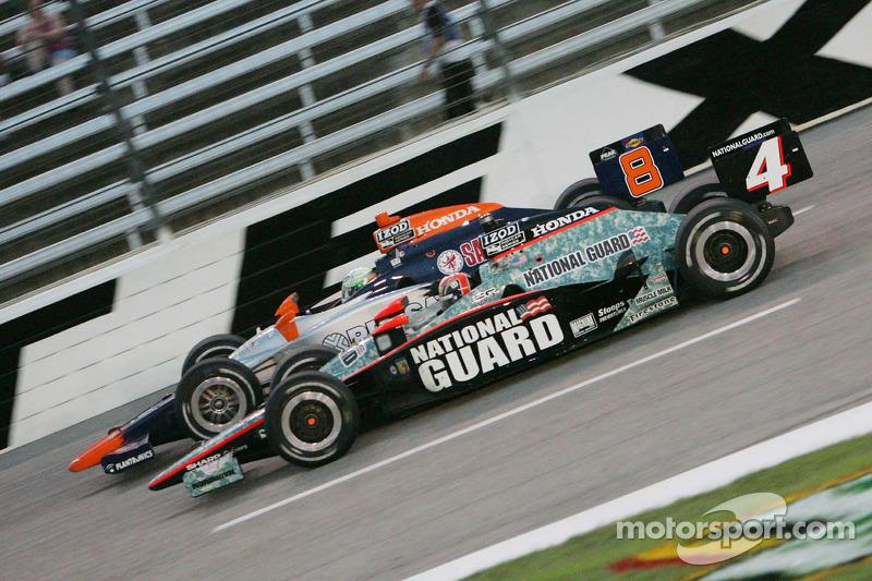 Dan Wheldon, Panther Racing & E.J. Viso, KV Racing Technology
