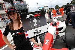 F2 grid girl for Will Bratt