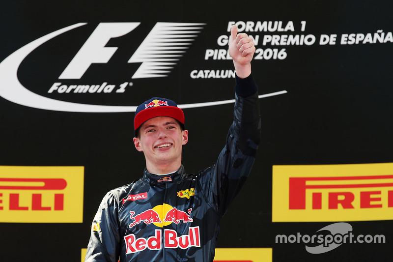 #1: Max Verstappen, GP Spanien 2016 (18 Jahre, 228 Tage)