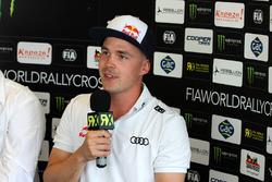Toomas Heikkinen, EKS RX di press conference