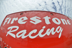 Firestone Racing signage