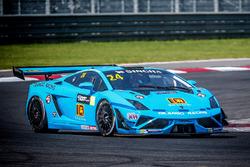 #24 Dilango Racing Lamborghini: Armaan Ebrahim, Dilantha Malagamuwa