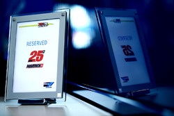 Reserved seating for Maverick Viñales, Team Suzuki MotoGP