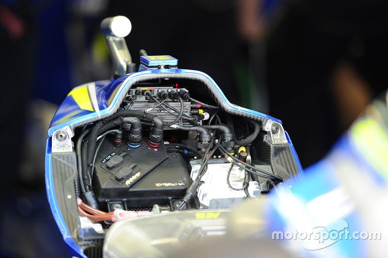Команда Suzuki MotoGP працює
