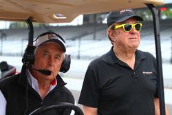 Roger Penske and John Menard