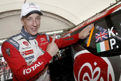 Il vincitore Kris Meeke, Citroën World Rally Team