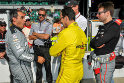Juan Pablo Montoya, Team Penske Chevrolet, Helio Castroneves, Team Penske Chevrolet, Will Power, Team Penske Chevrolet