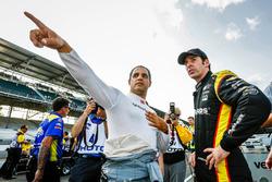 Хуан-Пабло Монтойя, Team Penske Chevrolet и Симон Пажено, Team Penske Chevrolet
