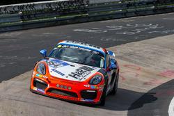 #354 raceunion Teichmann Racing, Porsche Cayman GT4 CS: Hans Holmlund, Tommy Gråberg, Scott Marshall