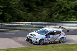 #201 mathilda racing - Team pistenkids SEAT Leon: Georg Niederberger, Jürgen Wohlfarth Murrhardt, Andreas Gülden, Jordi Gene