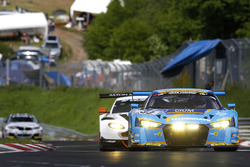 "#33 Car Collection Motorsport, Audi R8 LMS: Andreas Ziegler, ""G. Tonic"", Ronnie Saurenmann, Peter Schmidt"