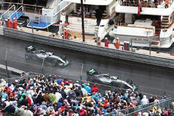 Nico Rosberg, Mercedes AMG F1 W07 Hybrid lidera a Lewis Hamilton, Mercedes AMG F1 W07 Hybrid