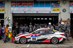 #188 Toyota Gazoo Racing, Lexus RC: Takayuki Kinoshita, Takamitsu Matsui, Naoya Gamo, Morizo