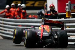 Макс Ферстаппен, Red Bull Racing RB12 - авария